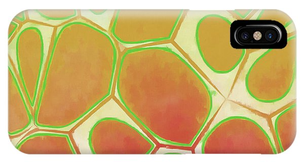 Fineart iPhone Case - Cells Abstract Five by Edward Fielding
