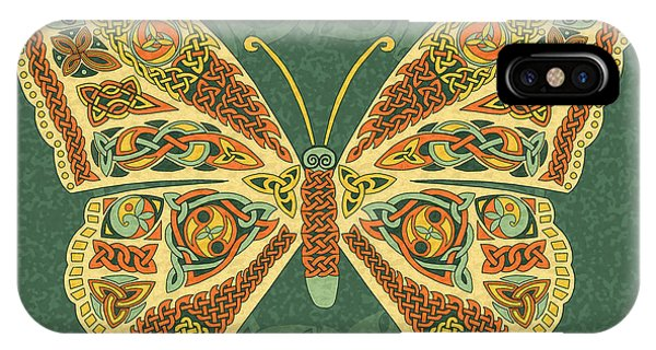 Celtic Butterfly IPhone Case