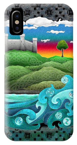 Celtic Castle Tor IPhone Case