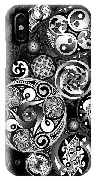 Celtic Clockwork IPhone Case