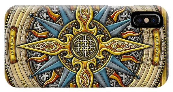 Celtic Compass IPhone Case