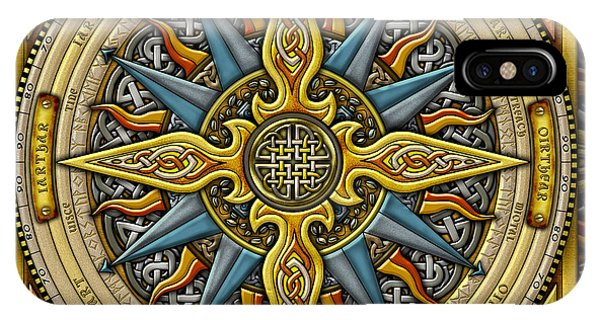 Celtic Compass IPhone Case