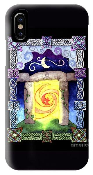 Celtic Doorway IPhone Case
