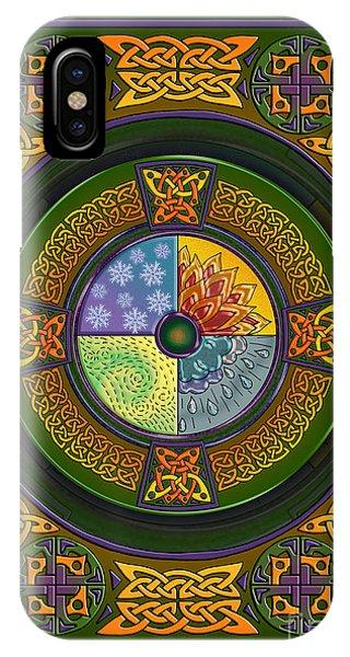 Celtic Elements IPhone Case