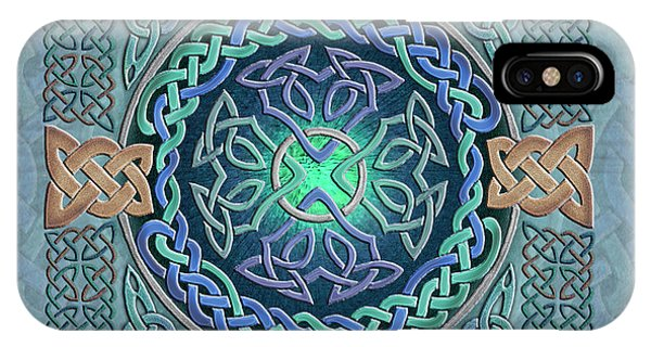 Celtic Eye Of The World IPhone Case
