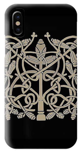 Celtic Leaves Knots One IPhone Case