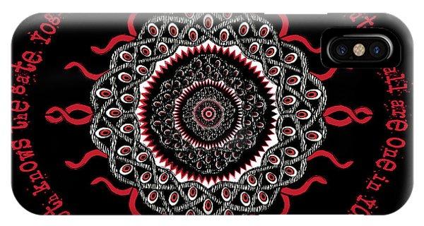 Celtic Lovecraftian Cosmic Monster Deity IPhone Case