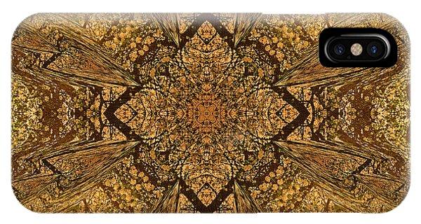 Celtics iPhone Case - Celtic Mandala Abstract by Isabella Howard
