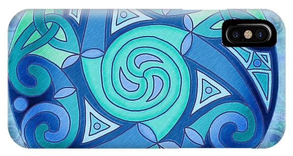 Celtic Planet IPhone Case