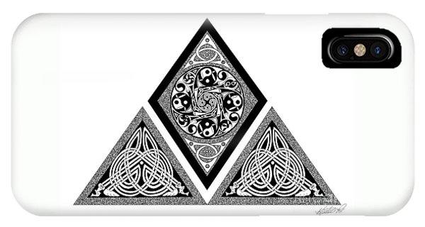 Celtic Pyramid IPhone Case
