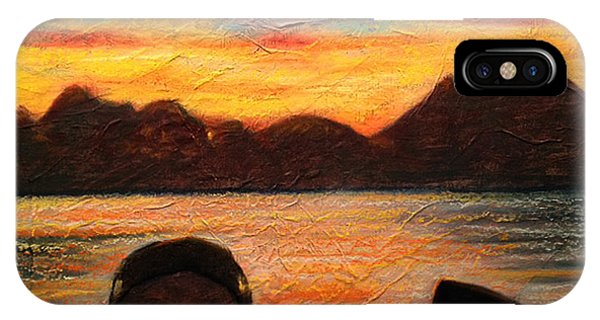 Celtic Sunset IPhone Case