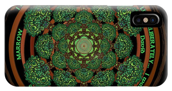 Celtic Tree Of Life Mandala IPhone Case