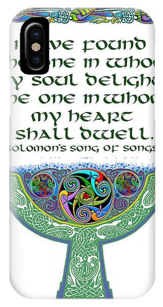 Celtic Wedding Goblet IPhone Case