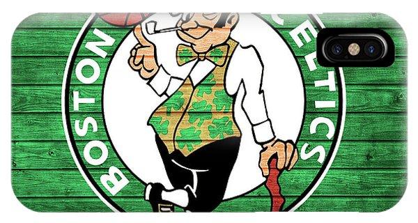 Celtics iPhone Case - Celtics Barn Door by Dan Sproul