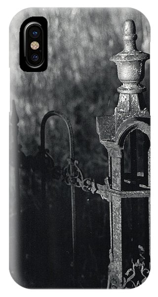 Cemetery  Fence IPhone Case