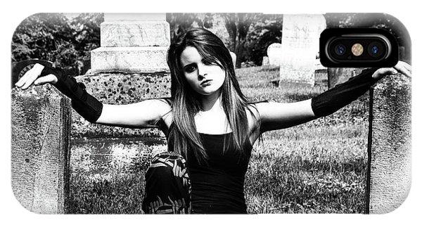 Cemetery Girl IPhone Case