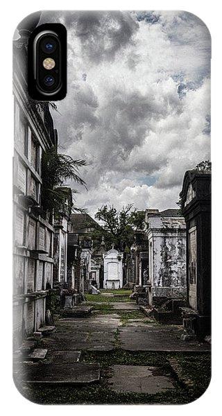 Cemetery Row IPhone Case