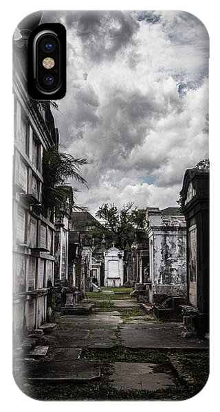 Cemetery Row IPhone Case
