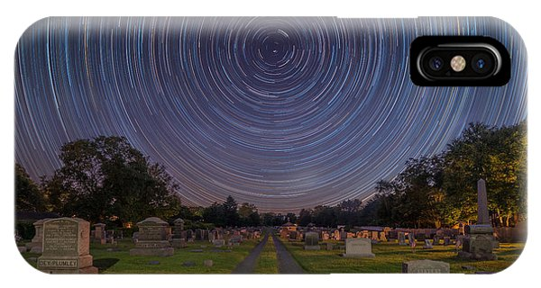 Spin iPhone Case - Cemetery Spins  by Michael Ver Sprill