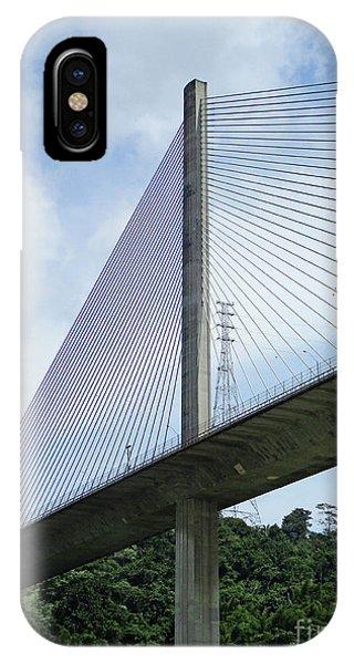 Centennial Bridge iPhone Case - Centennial Bridge 2 by Randall Weidner