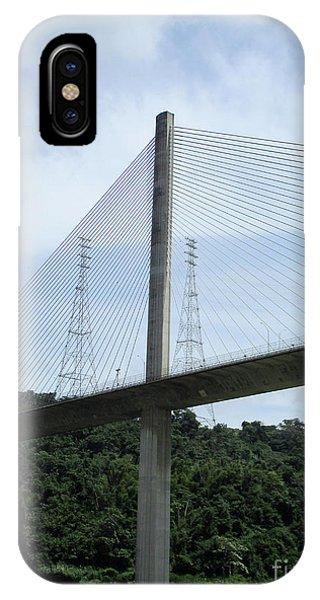 Centennial Bridge iPhone Case - Centennial Bridge 3 by Randall Weidner