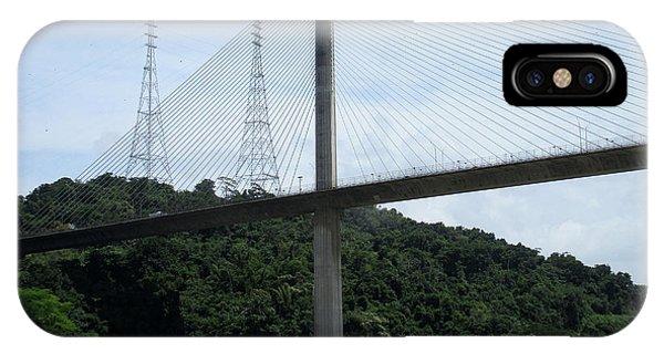Centennial Bridge iPhone Case - Centennial Bridge 5 by Randall Weidner