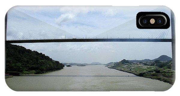 Centennial Bridge iPhone Case - Centennial Bridge 6 by Randall Weidner