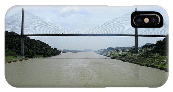 Centennial Bridge iPhone Case - Centennial Bridge 7 by Randall Weidner