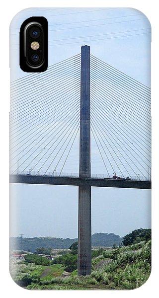 Centennial Bridge iPhone Case - Centennial Bridge 8 by Randall Weidner