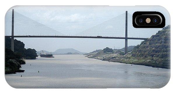 Centennial Bridge iPhone Case - Centennial Bridge 9 by Randall Weidner
