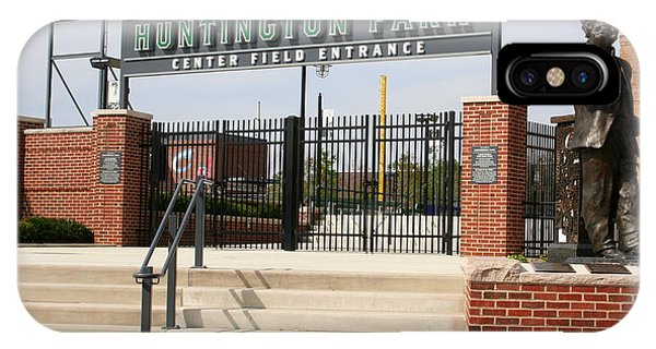 Center Field Entrance At Huntington Park  IPhone Case