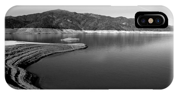 Water Ski iPhone Case - Centimudi In Black And White by Joyce Dickens