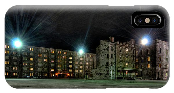 Central Area At Night IPhone Case