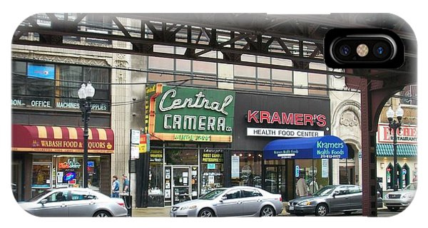 Central Camera On Wabash Ave  IPhone Case