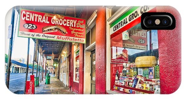 Central Grocery And Deli In The French Quarter IPhone Case
