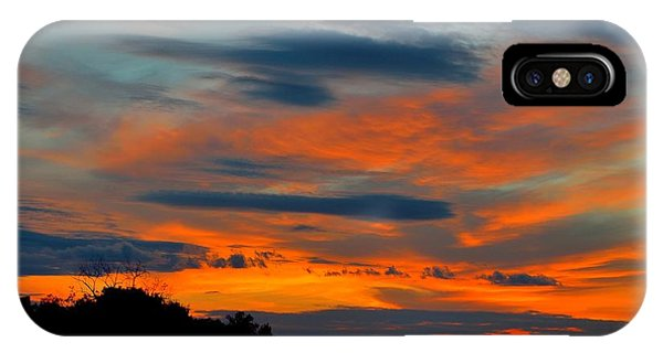 Central Jersey Sunset IPhone Case
