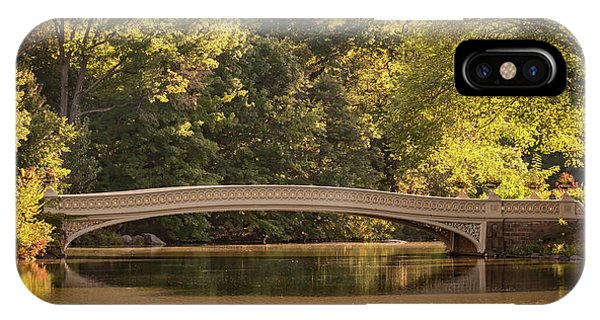 Central Park Bridge IPhone Case