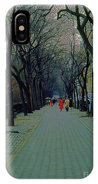 Central Park East IPhone Case