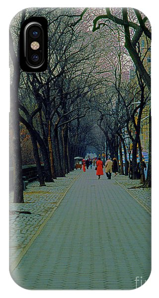 Central Park East IPhone Case