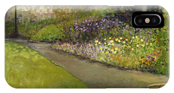 Impressionist iPhone Case - Central Park by Jennifer Lommers