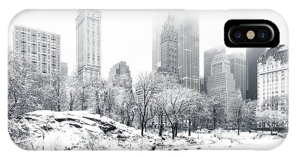 Central America iPhone Case - Central Park by Mihai Andritoiu
