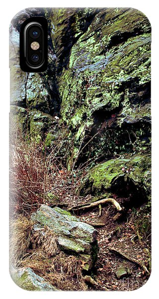 Central Park Rock Formation IPhone Case