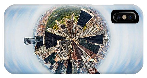 Central America iPhone Case - Eye Of New York by Az Jackson