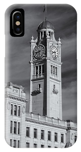 Central Station Clock Tower IPhone Case