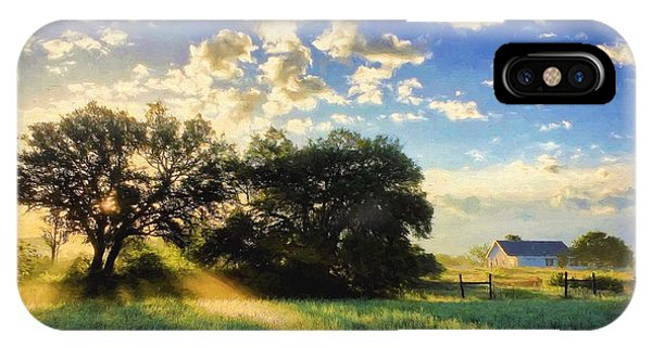 Central Texas Sunrise IPhone Case