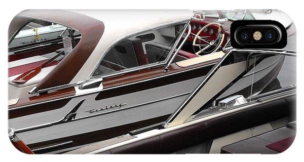 Powerboat iPhone Case - Century Coronado by Neil Zimmerman
