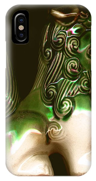Ceramic Chinese Temple Dog IPhone Case