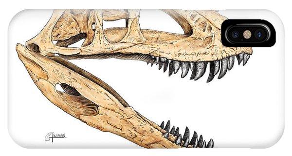 Ceratosaur Skull IPhone Case