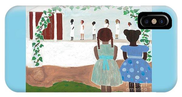 Temple iPhone Case - Ceremony In Sisterhood by Kafia Haile