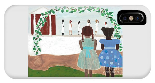Temple iPhone Case - Ceremony In Sisterhood by Kafia Haile